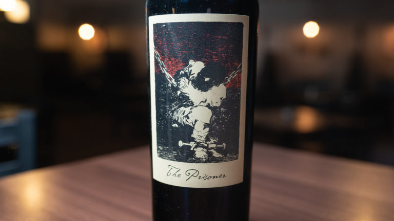 The Prisoner, The Prisoner Wine Company, California, Red Blend